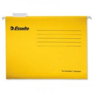 Esselte Pendaflex Economy Suspension File A4 Yellow Pk 25 90314