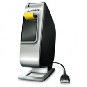 Dymo Plug N Play Label Machine USB Lithium-ion Battery D1 Prints 2 Lines Ref S0915390