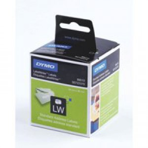 Dymo Address Label Standard 28x89mm Pack of 260 99010 S0722370