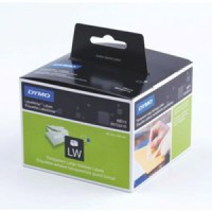 Dymo Address Label Large 36x89mm Clear Pk 260 99013 S0722410