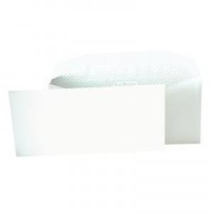 Postmaster Envelopes Wallet Gummed 90gsm White DL [Pack 500]