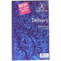 Image for Challenge Duplicate Book Carbonless Delivery Note 100 Sets 210x130mm Ref 100080470 [Pack 5]
