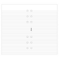 Filofax A5 Ruled Paper White 343008