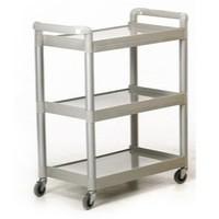 GPC 3-Shelf Service Trolley Grey HI424Y