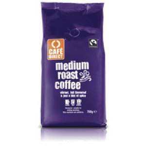 Cafe Direct Fairtrade Roast/Ground Coffee 750gm