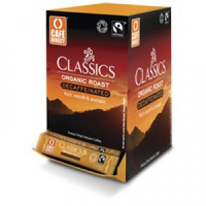 Cafe Direct Fairtrade Freeze Dried Decaffeinated Coffee Sticks 1.8gm Pack of 250 TWI41024