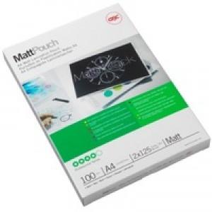 Acco GBC Laminating Pouch A4 Matt 75micron Pack of 100 3747240