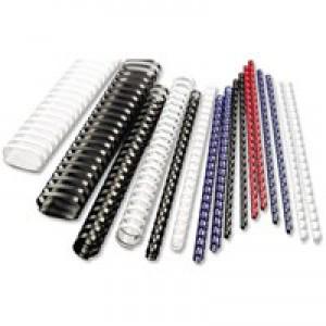 Acco GBC Binding Comb 38mm A4 21-Ring Black Pack of 50 4028185