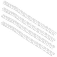 Image for Acco GBC A4 11mm 34-Loop Wires 3:1 Pitch White Pack of 100 RG810770