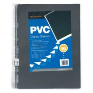 Goldline Polypropylene Display Sleeve A3 Pk 10 PDSA3Z