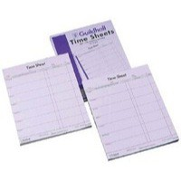 Image for Guildhall Work Time Sheets Sat-Fri Pk100