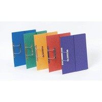 Europa Pocket Spiral File A4 Assorted Pack of 25 3010Z