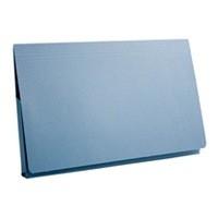 Guildhall Full Flap Pocket Wallet Foolscap Blue