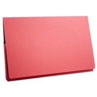 Guildhall Full Flap Pocket Wallet Foolscap Red
