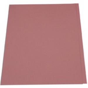 Guildhall Square Cut Folder Foolscap 315gsm Pink FS315