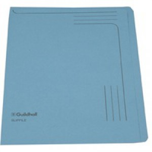 Guildhall Slipfile 12.5x9 inches Blue 14601