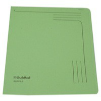 Guildhall Slipfile 12.5x9 inches Green 14603