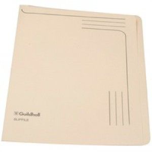 Guildhall Slipfile 12.5x9 inches Cream 14609