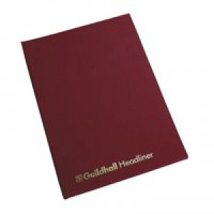 Guildhall Headliner Book 80 Pages 298x203mm 38/14