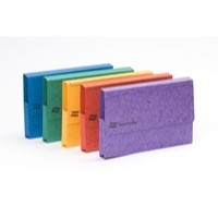 Europa A3 Document Wallet 32mm Capacity Assorted Pk 25 4780