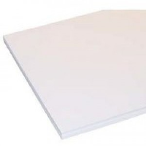 Goldline Coloured Card Smooth 200gsm 25 Sheets 700x500mm White Code GCC3220