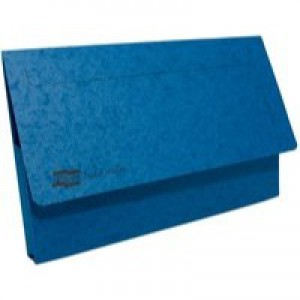 Europa Pocket Wallet Foolscap Blue 5255Z