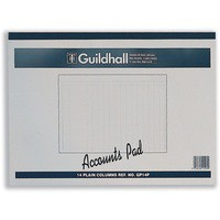 Image for Guildhall Account Pad 14-Column Cash 298x406mm GP14
