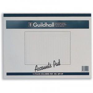 Guildhall Account Pad 14-Column Cash 298x406mm GP14
