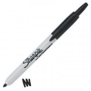 Sharpie Retractable Marker Black S0437020 S0751460