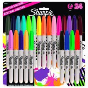 Sharpie Fine Pastel Assorted Pk 24 S0944841