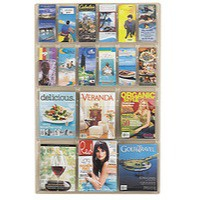 Image for Safco Reveal 6xA4/12x1/3xA4/DL Pocket Clear Display 5600CL