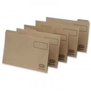 Elba Tabbed Folder 290gsm Heavy-weight Foolscap Buff 100090233