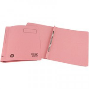 Elba Ashley Flat Bar File Foolscap Pink 100090155