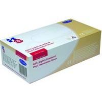Handsafe Polypropylene Vinyl Gloves Medium Pack of 100 Clear GN52