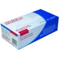 Shield Powder-Free Vinyl Gloves Blue Medium Pack of 100 GD14