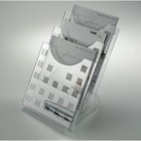 Helit Desktop 3-Pocket A4 Literature Holder H61027