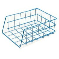 Universal Large Capacity Stacking Wire Tray Blue 582003