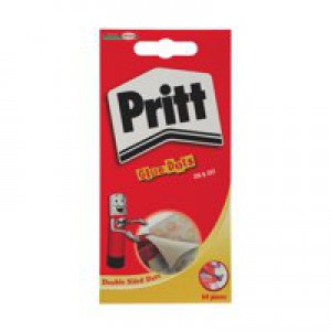 Pritt Glue Dots Repositionable Clear Wallet of 64 854242