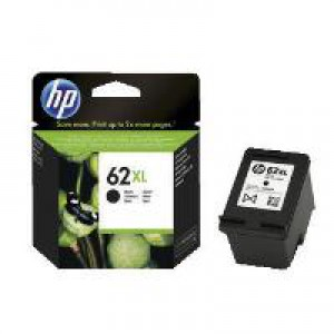HP 62XL Black Original Ink Cartridge C2P05AE