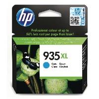 HP Inkjet Cartridge 9.5ml Cyan No.935XL C2P24A