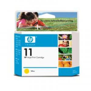 Hewlett Packard No11 Inkjet Cartridge Yellow C4838A
