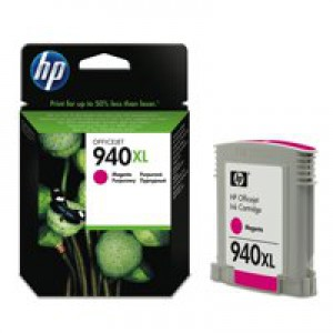 Hewlett Packard No940 XL Ink Cartridge Magenta OfficeJet Pro 8000/8500 C4908AE