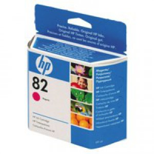 Hewlett Packard No82 Inkjet Cartridge Magenta C4912A