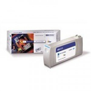 Hewlett Packard No81 Inkjet Cartridge Dye Ink Cyan C4931A