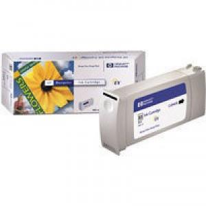 Hewlett Packard No83 UV Inkjet Cartridge Black C4940A