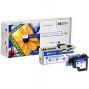 Hewlett Packard No83 UV Print Head and Cleaner Cyan C4961A