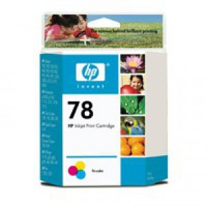 Hewlett Packard No78 Inkjet Cartridge 3-Colour 19ml C6578D