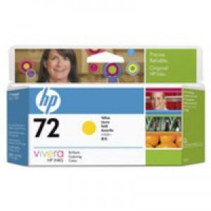 Hewlett Packard No72 Inkjet Cartridge High Yield Yellow C9373A