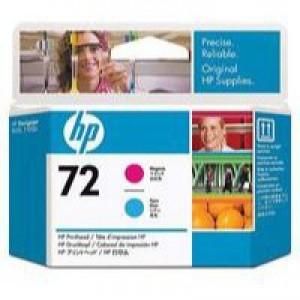 Hewlett Packard No72 Print Head Magenta/Cyan C9383A