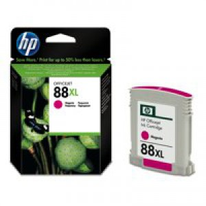 Hewlett Packard No88XL OfficeJet Inkjet Cartridge High Yield Magenta C9392AE